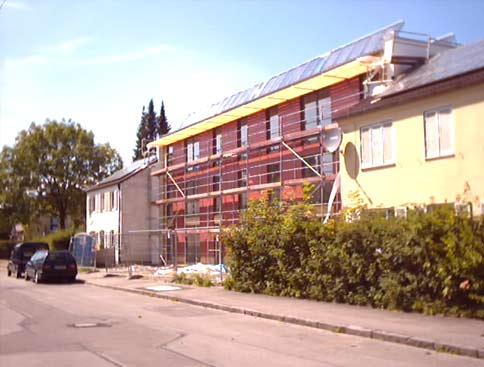 Europadorf-Südlicher Erweiterungsbau mit Solaranlage
