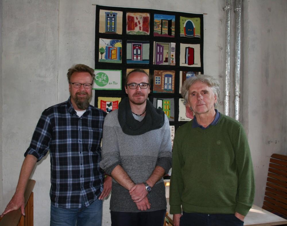 Die Referenten Stefan Wagner, Julian Rapp und Matthias Schopf-Emrich (v.l.).  Foto: Tür an Tür / S. Hank